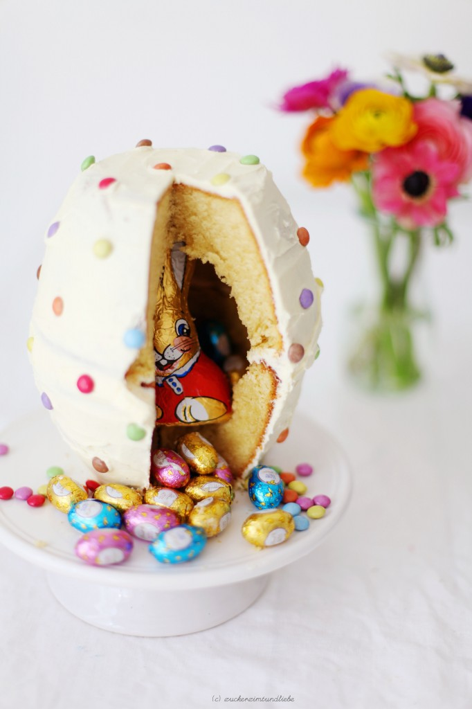 Hidden Treats Easter Cake