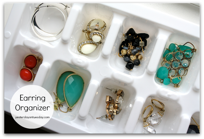 Diy earring tray module