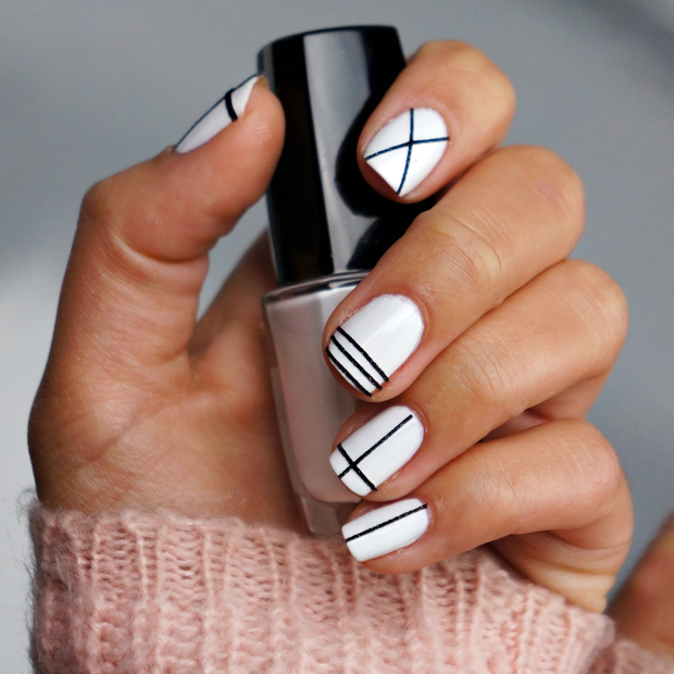 nail art tape - Easy Nail Design Ideas