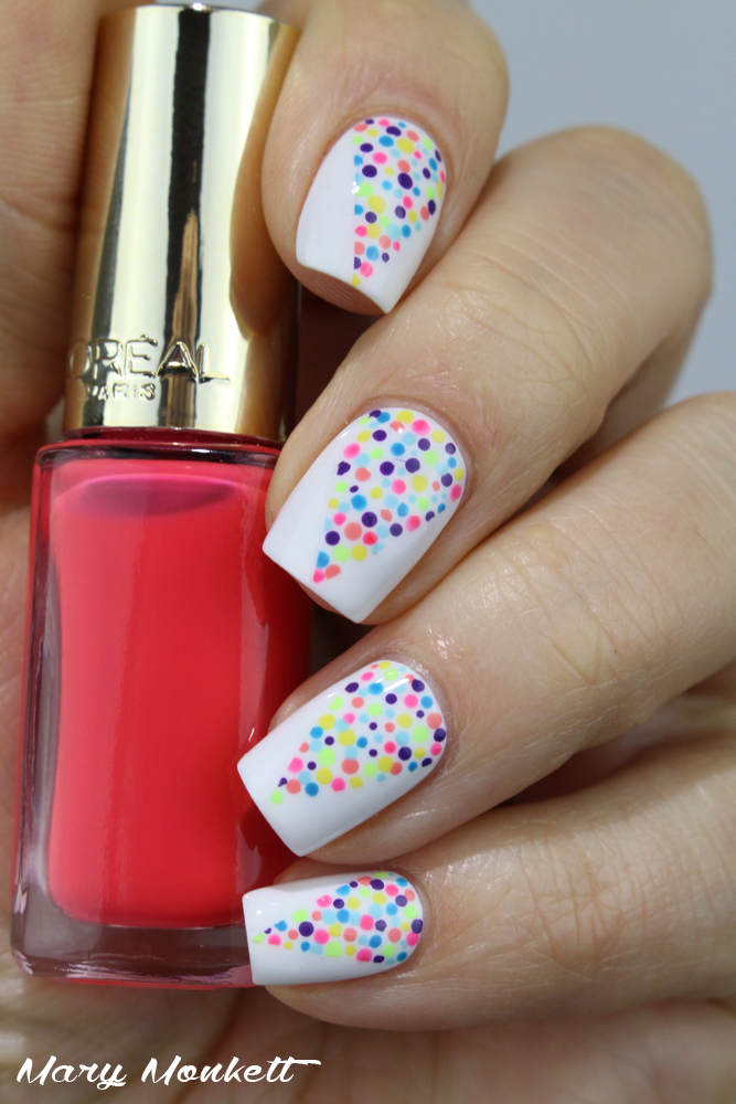 nailstorming holi nails - Easy Nail Design Ideas
