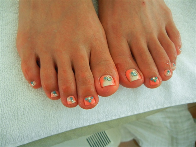 Ombre Pedicure