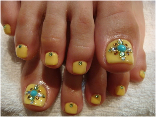 44 Easy And Cute Toenail Designs For Summer Page 2 Of 5 Cute Diy