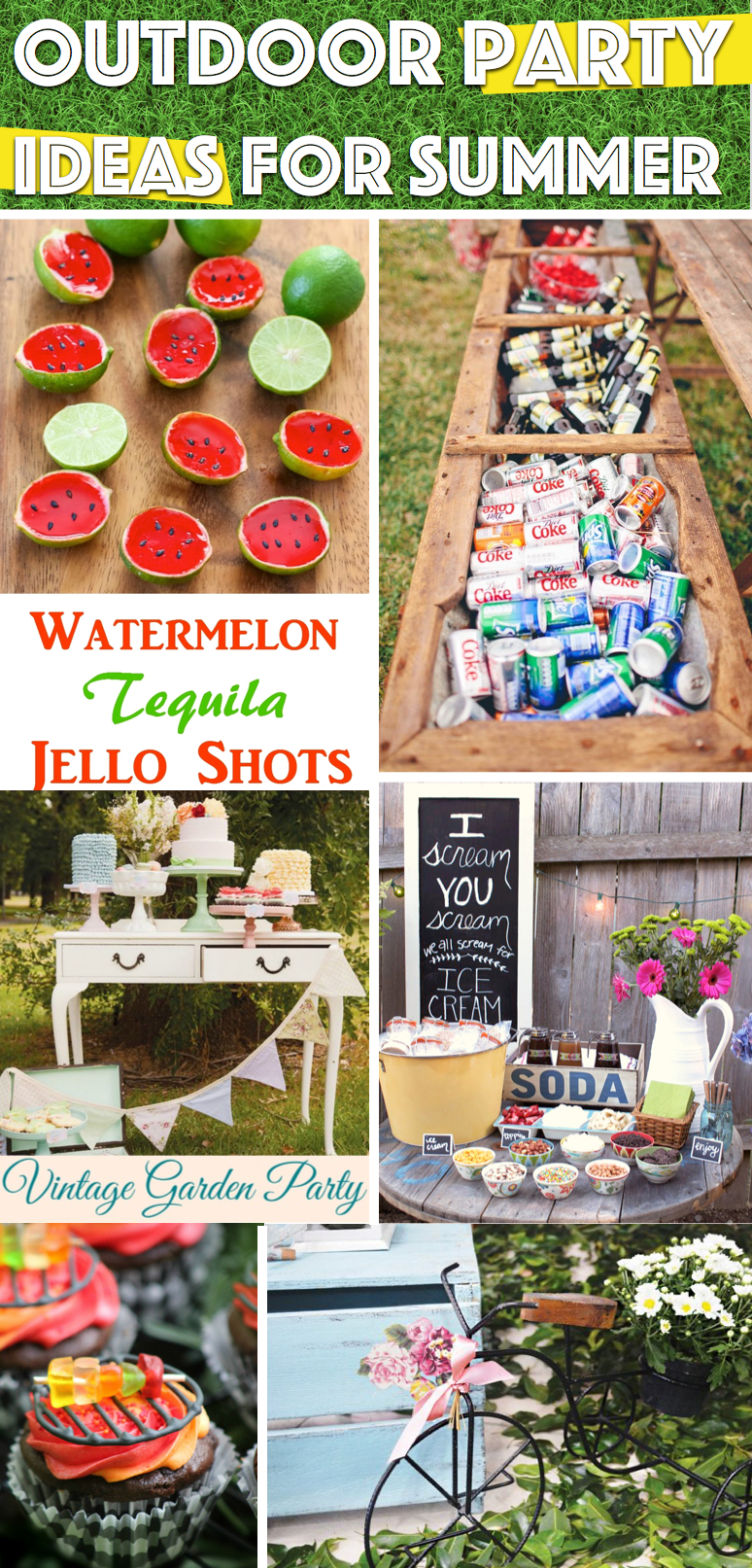 25 Outdoor Party Ideas For Summer You Need For Creating Unforgettable Celebrations Cute Diy Projects