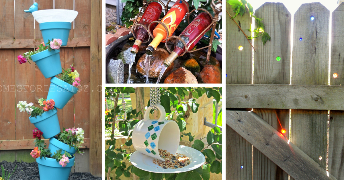 30 garden diy and craft ideas transforming your yard from