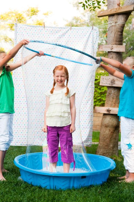 Bubble Party : Human Bubble
