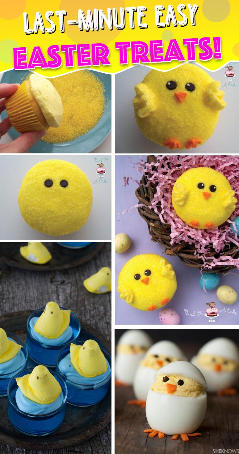 Last-Minute Easy Easter Treats