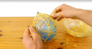 What He Makes Wrapping A String Around a Balloon Is All you Need To Surprise Kids For Easter!