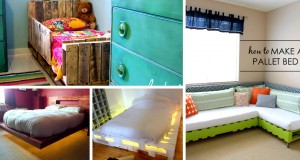 20 Best DIY Pallet Bed Projects
