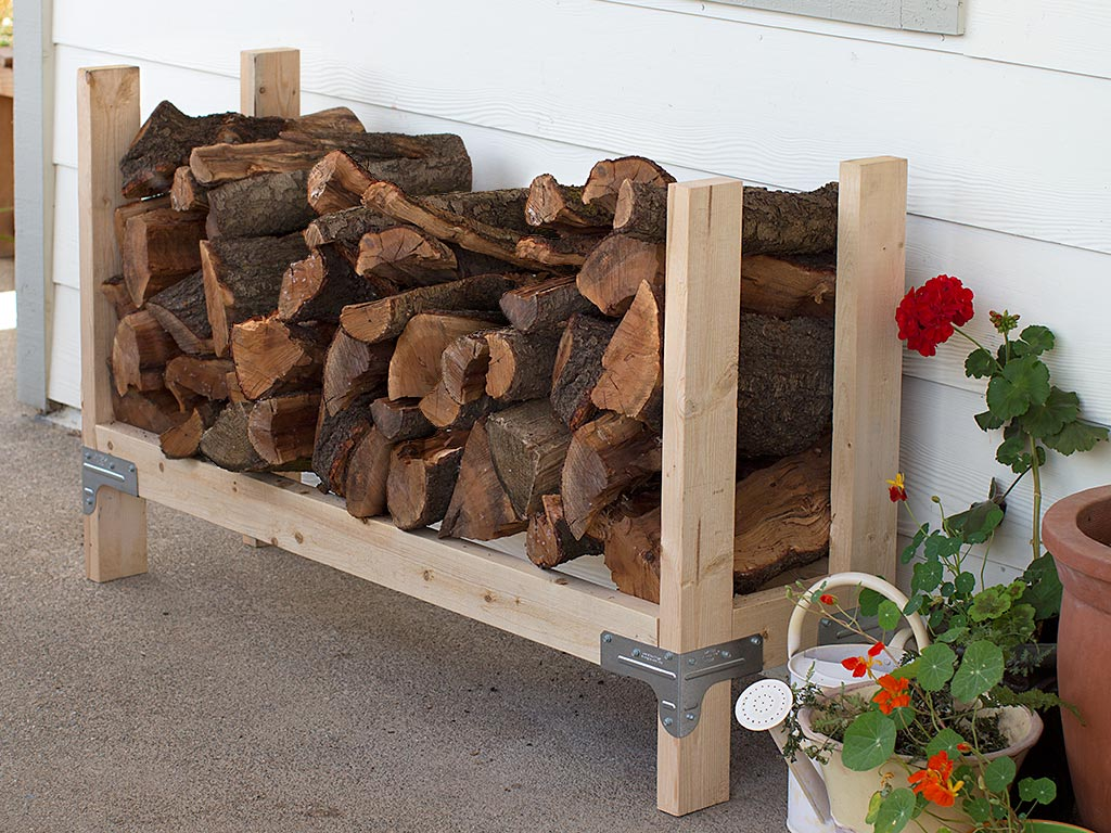 14 Easy DIY Outdoor Firewood Racks to Keep Those Logs Perfectly ...