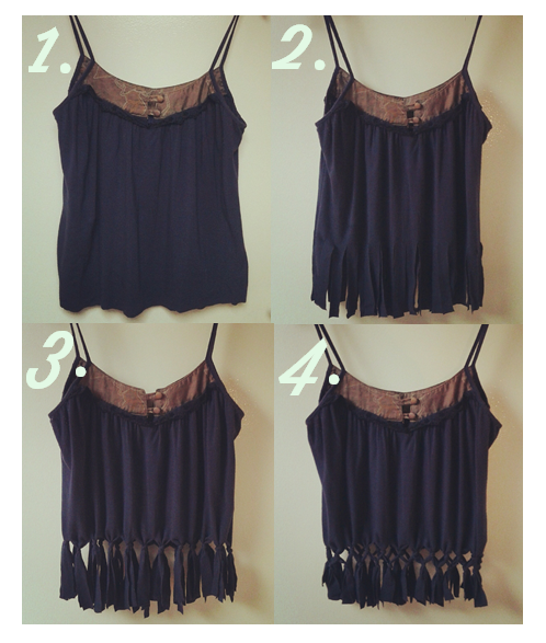 DIY Knotty Crop Top