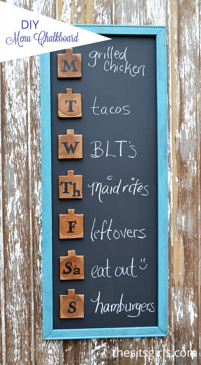 Amazing DIY Menu Board