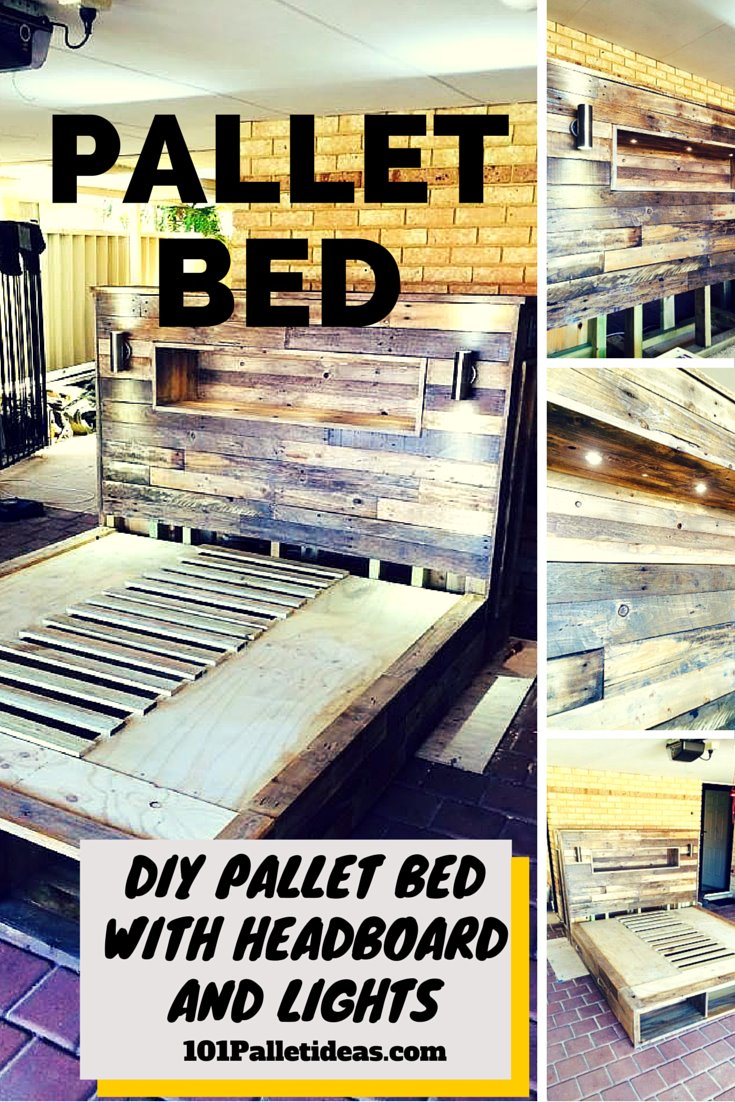 20 Best DIY Pallet Bed Projects Pretty Enough To Take Your