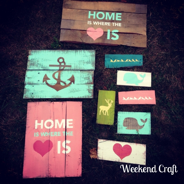 29 pallet signs and the silhouette challenge - Diy Kitchen Decor