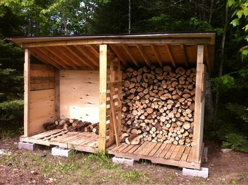 14 Easy DIY Outdoor Firewood Racks to Keep Those Logs ...
