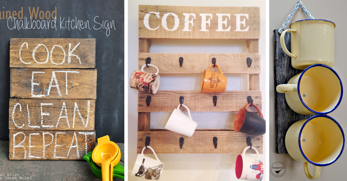 The 35 Best DIY Kitchen Decorating Projects Cute