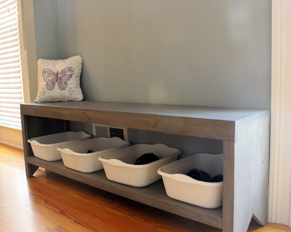 Apartment entryway shoes: happy and organized entry. small spaces ...
