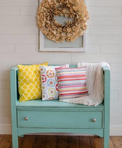 DIY Dresser Turned Bench Tutorial