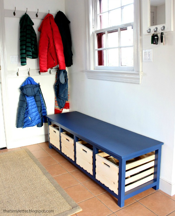 Bon DIY Shoe Storage Bench