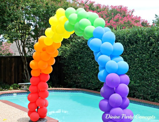 25 sweet sixteen party ideas for girls page 2 of 3 for How to make balloon arch at home