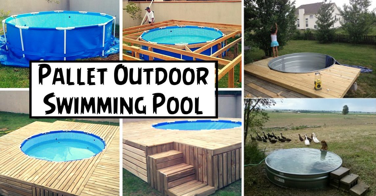 The best 12 diy pool ideas cute diy projects for Diy small pool