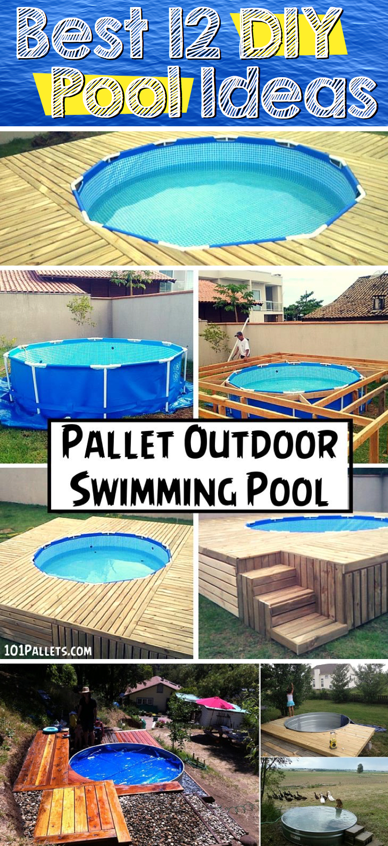 The Best 12 DIY Pool Ideas