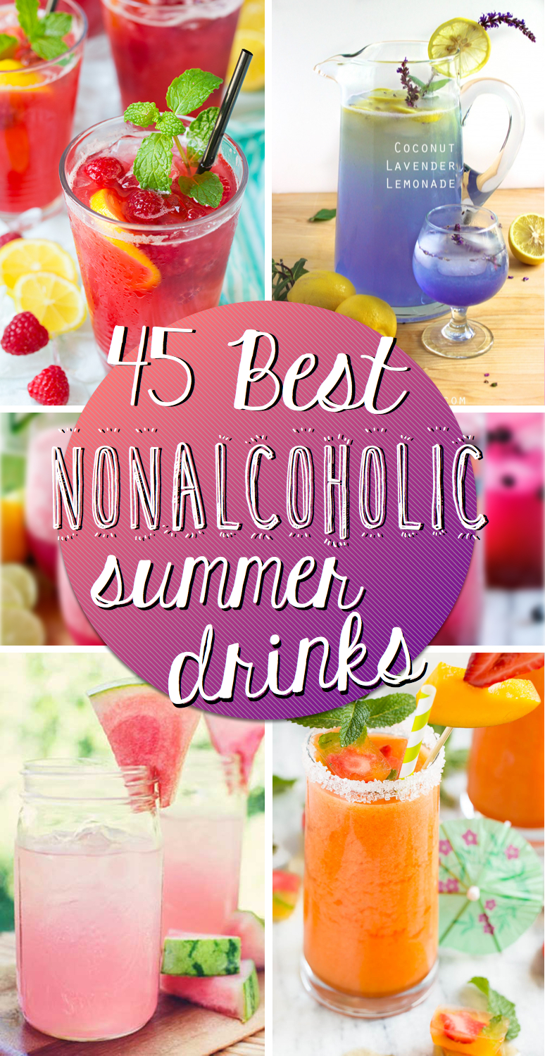 45 best nonalcoholic summer drinks for Summer drinks for party