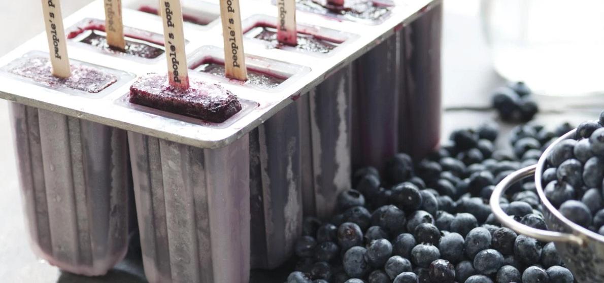 Blueberry Moonshine Popsicles Recipe