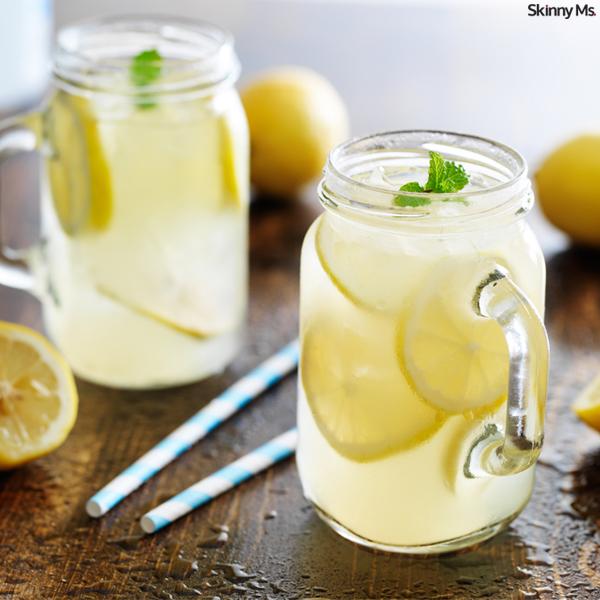 Homemade Honey Lemonade with Fresh Mint