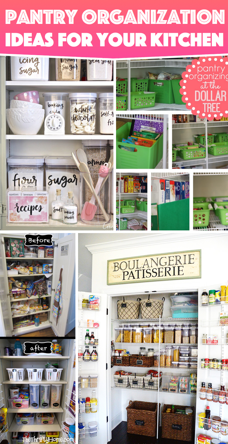 29 pantry organization ideas for your kitchen to get for Organization ideas for kitchen pantry