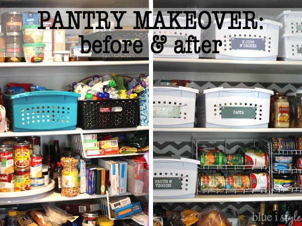 5 Steps to an Organized and Pretty Reach-In Pantry