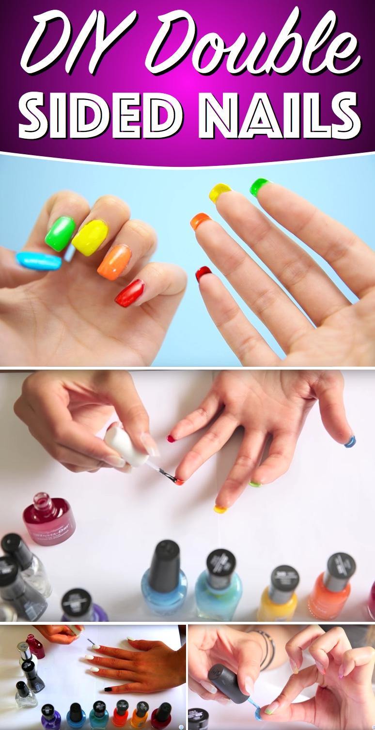 DIY Double Sided Nails