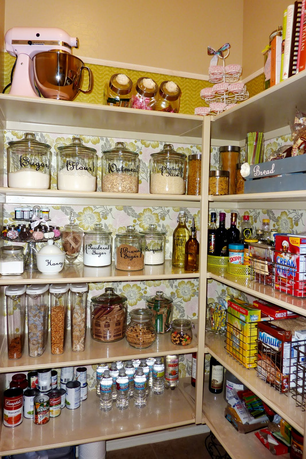 29 pantry organization ideas for your kitchen to get for Kitchen organization ideas