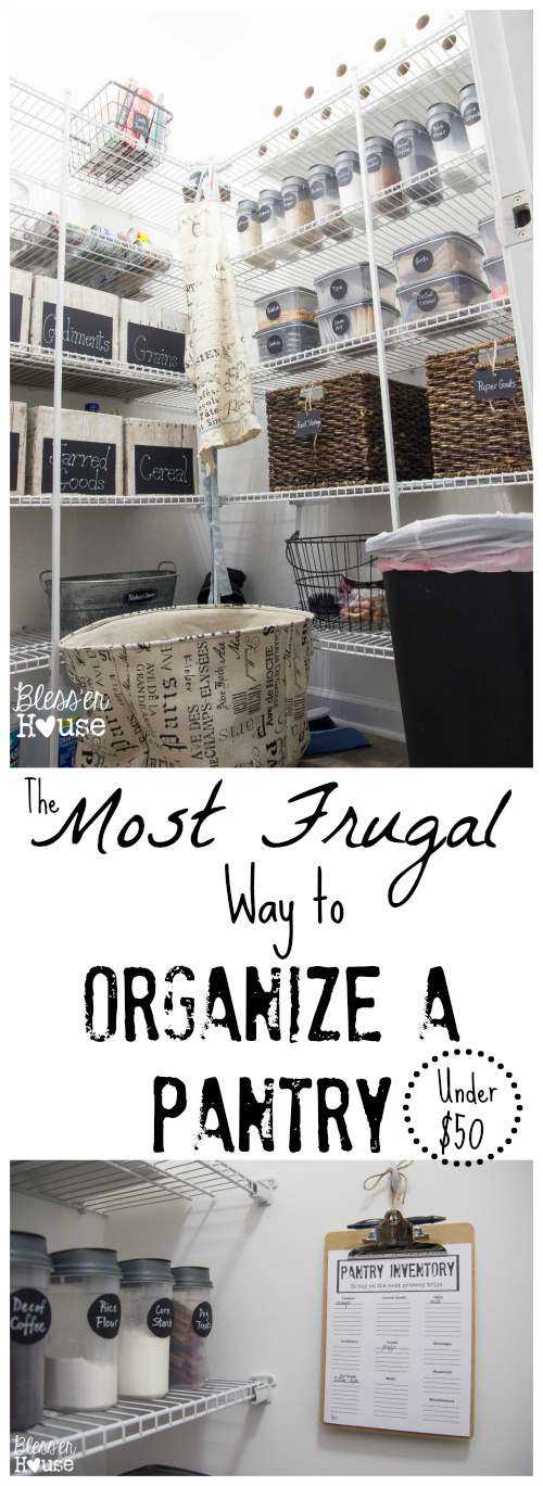 The Most Frugal Way to Organize a Pantry