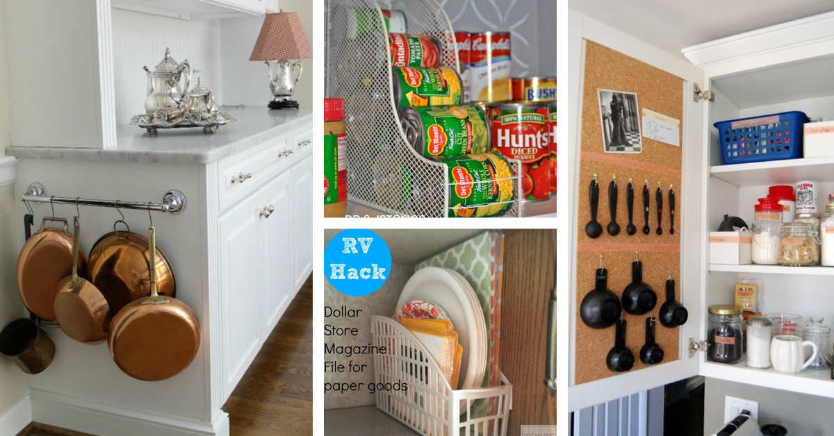 36 Dollar Store Kitchen Organization Hacks You Can Pull Off Like A