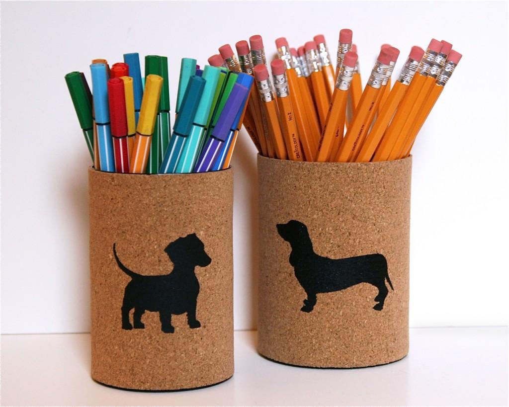 Как сделать банку для карандашей