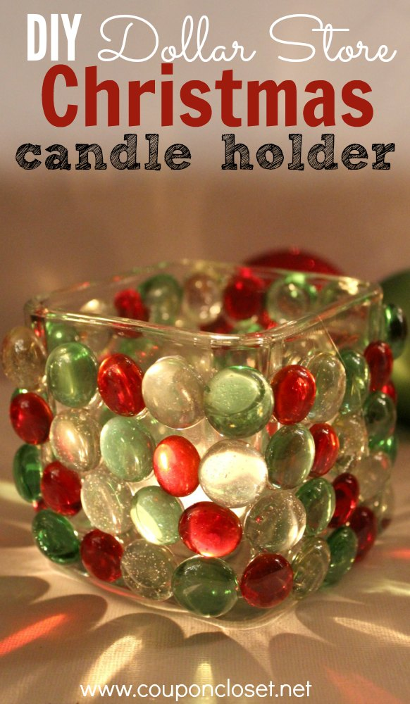 39 oh so gorgeous dollar store diy christmas decor ideas for Christmas candle displays