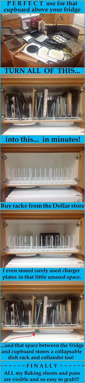 Dollar Store Dish Racks