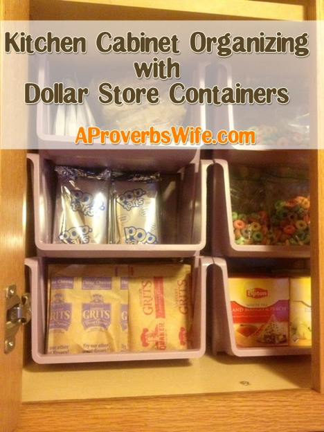 36 Dollar Store Kitchen Organization Hacks You Can Pull