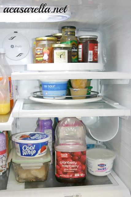 Lazy Susan for Organizing Kitchen Stuff