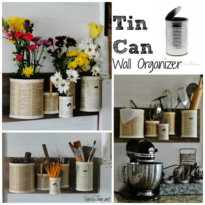 45 Ideas About Upcycling Tin Cans And