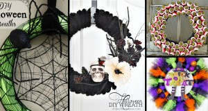 25 Halloween Wreath Ideas Letting You Welcome the Trick-or-Treaters Spook-tacularly Well
