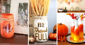 30 DIY Thanksgiving Decoration Ideas To Setup A Fall-Inspired Home