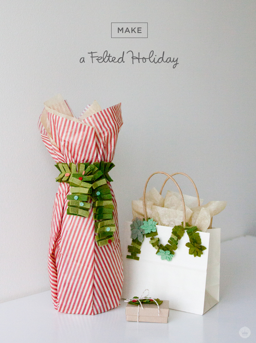 DIY Felt Gift Attachments