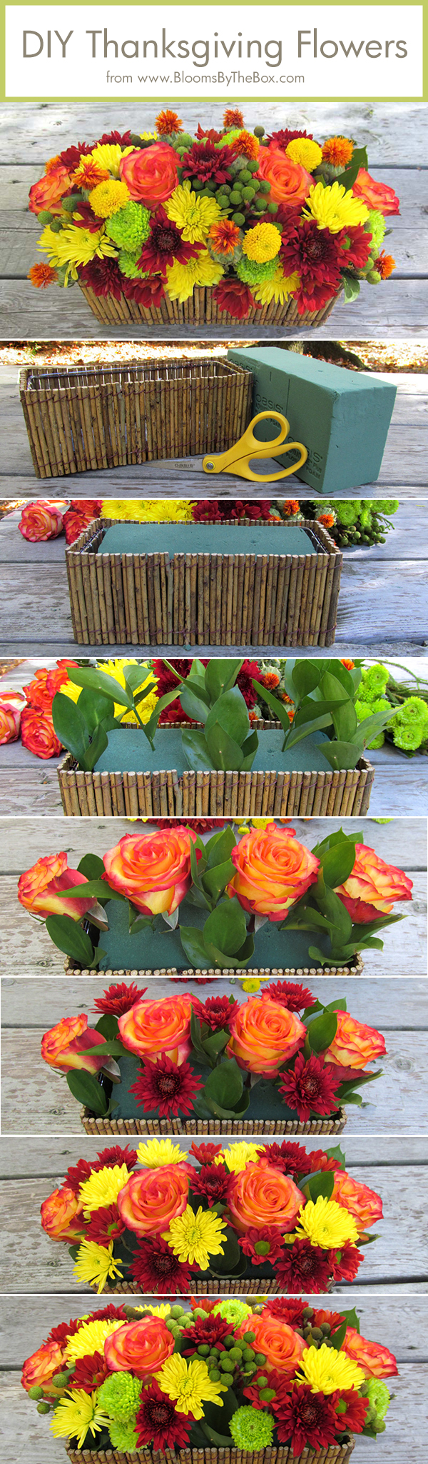 30 diy thanksgiving decoration ideas to setup a fall for Diy thanksgiving floral centerpieces