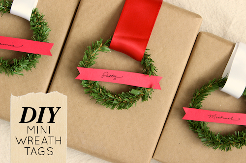 DIY Mini Wreath Gift
