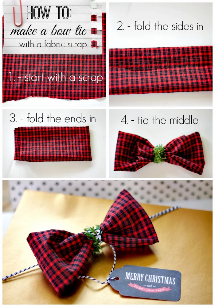 Gift Wrap Idea Using Old Clothes
