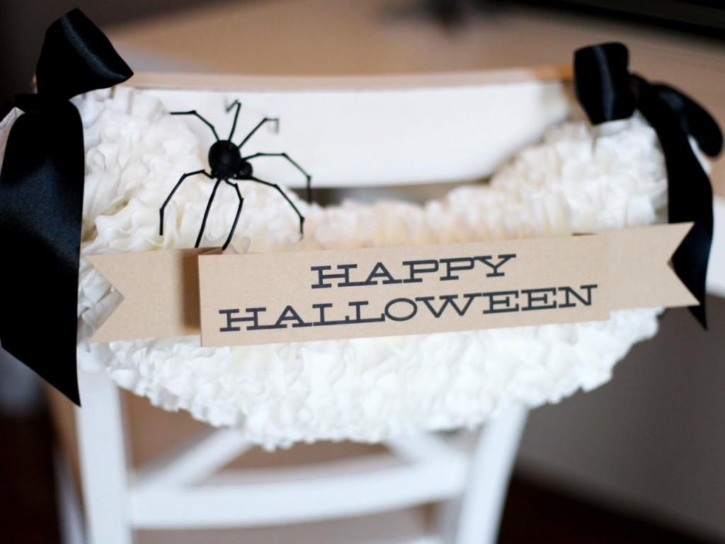 Halloween Chair Decoration