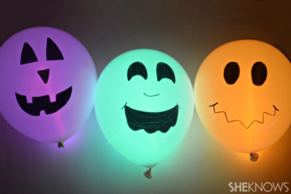 Halloween Glow Stick Crafts