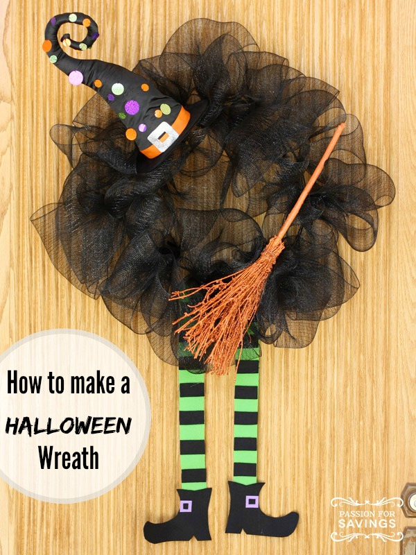 Halloween Wreath DIY Ideas