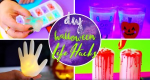 Here's a Whole Bundle of DIY Halloween Life Hacks Making the Party Oh So Spookier!